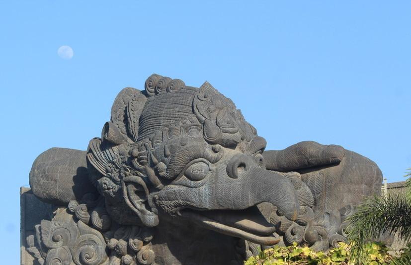 Amazing sculptures in Bali