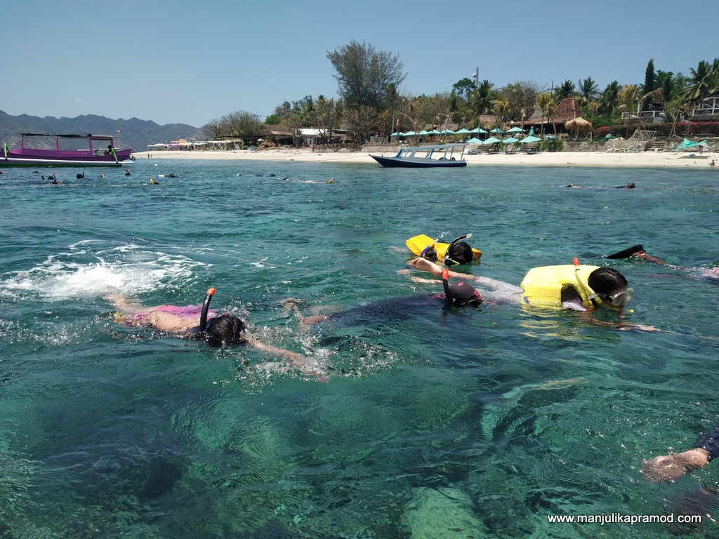 Underwater treasures of lombok