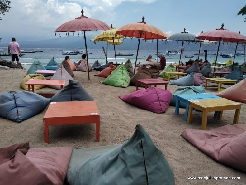 Vibrant Gili Trawangan in Lombok