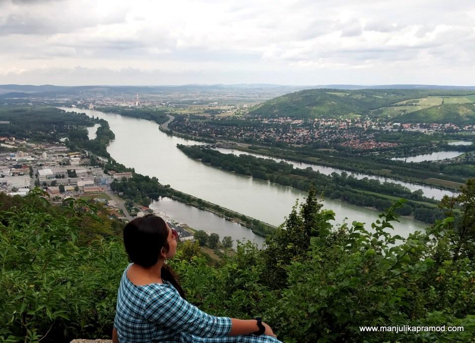 Danube River - Spending 4 days in Vienna.