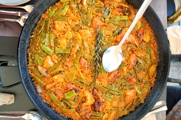 Paella was created in Valencia