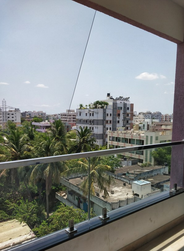 Use of balcony during quarantine