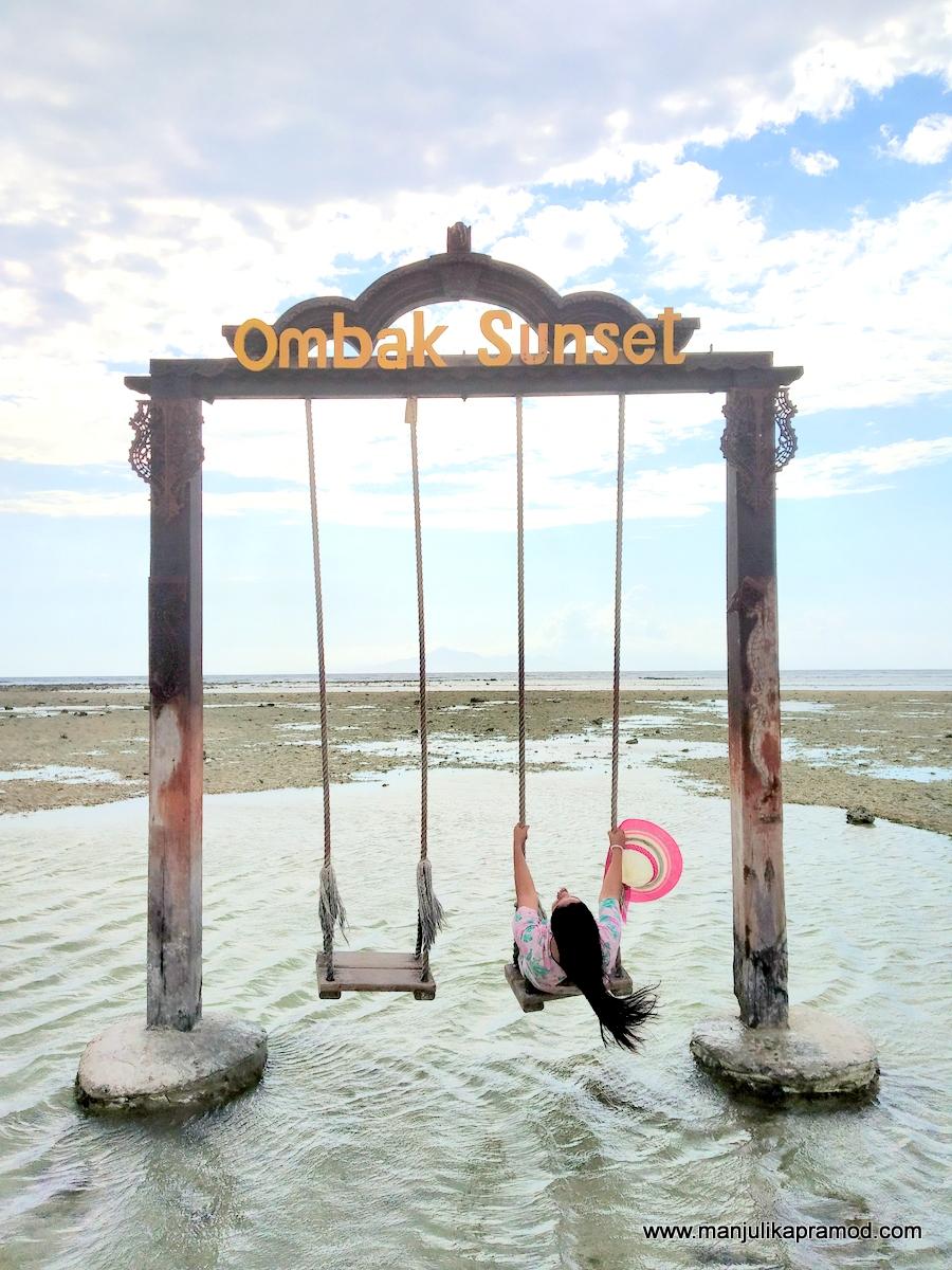 Lombok Sunset Swing