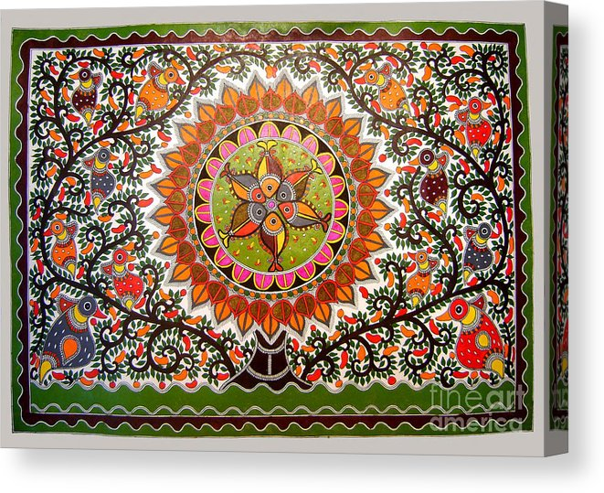 Madhubani art is loved globally too