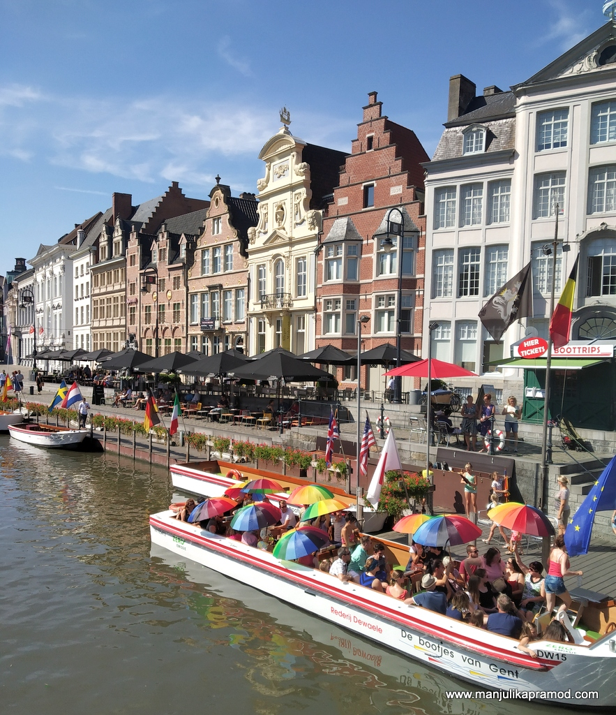 Ghent is absolutely vibrant!