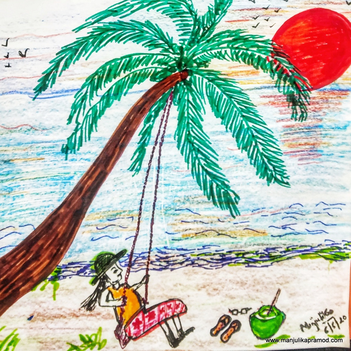 Thailand Drawings and Video