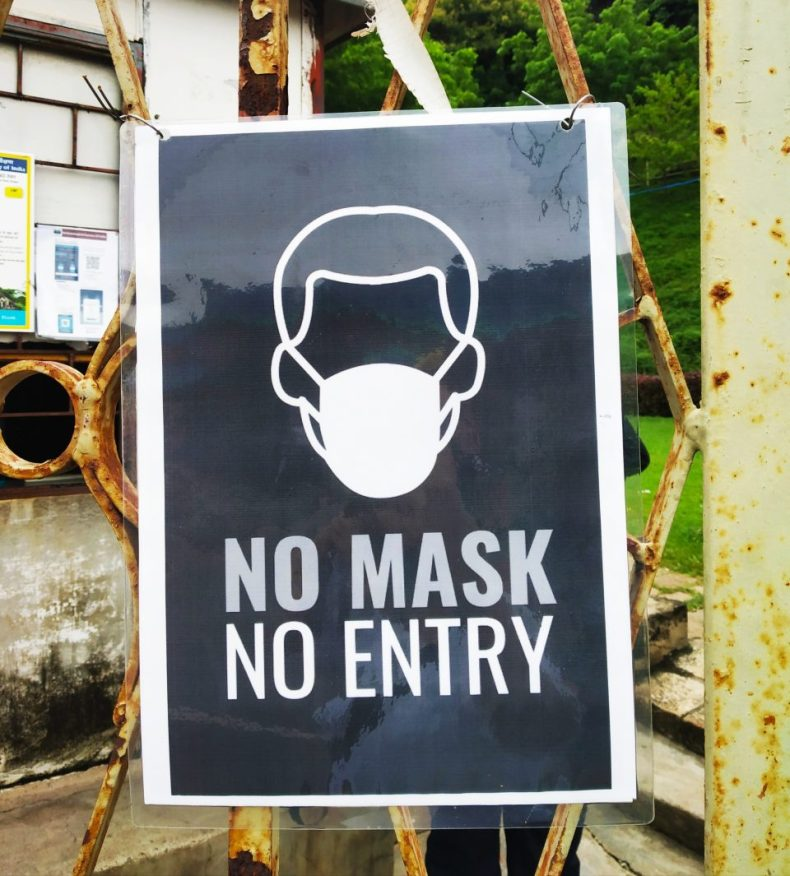 New Rules of Sightseeing - No Mask, No Entry!