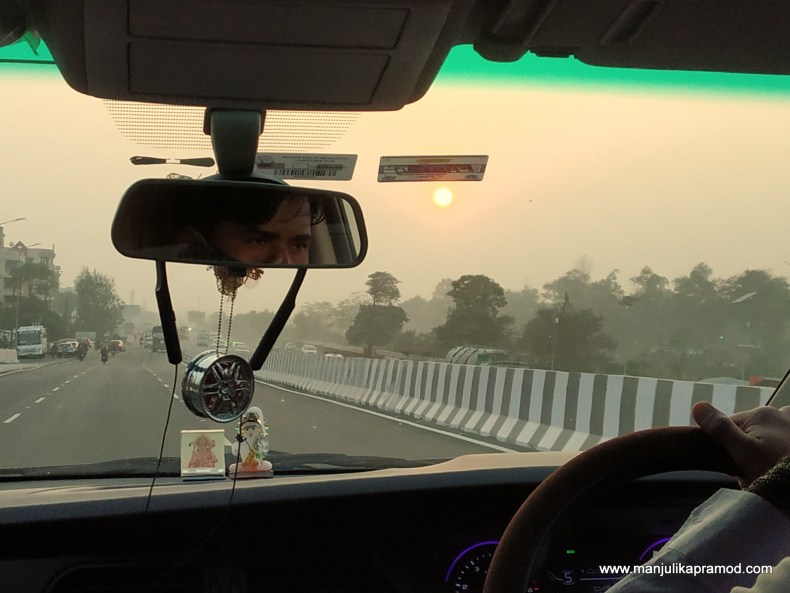 Road trip to Maha Kumbh Haridwar