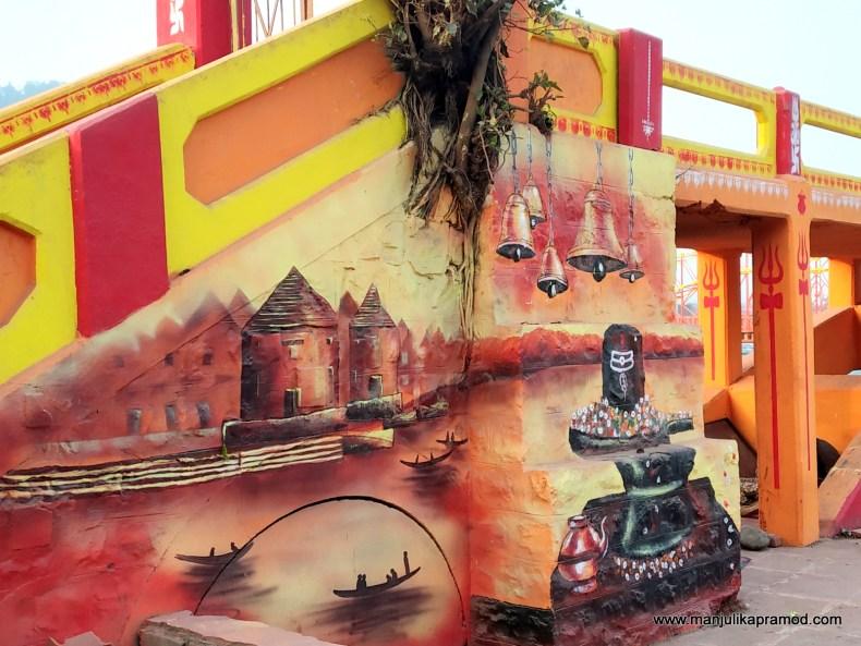 Artistic makeover of Haridwar