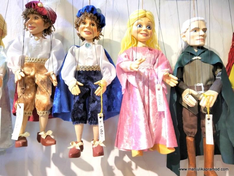 Czech marionettes - Travel blog