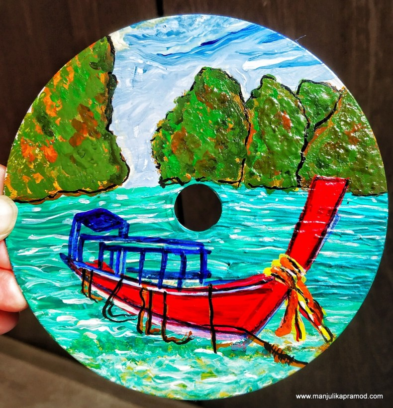 CD Painting - Thailand