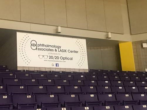 Proud to be showcased in the Bresnan Arena at Dr. Emily Birkholz's alma mater, MSU Mankato!
