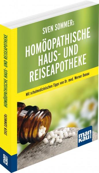 Sven Sommers Homöopathische Haus- und Reiseapotheke , cover mit freundlicher Genehmigung von mankau-verlag