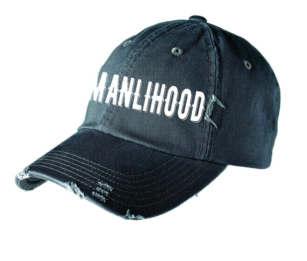 Manlihood Distressed Hat  be38be8e0274