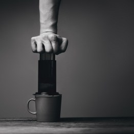 Paina kahvi kuppiin. Ja nauti.