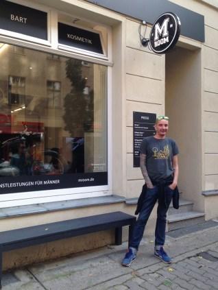 Suomalainen M Room -parturiketju on avannut liikkeensä myös Berliinissä.