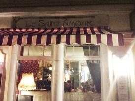 Berliinissä sijaitseva Le Saint Amour tarjoilee herkullista ranskalaista bistroruokaa.