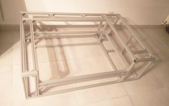 LAYZOR (4) – Building the frame