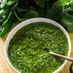 5 Minute Mint Chimichurri Sauce|www.mannaadspice.com