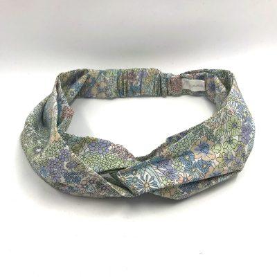 Headband en liberty Margaret Annie pastel