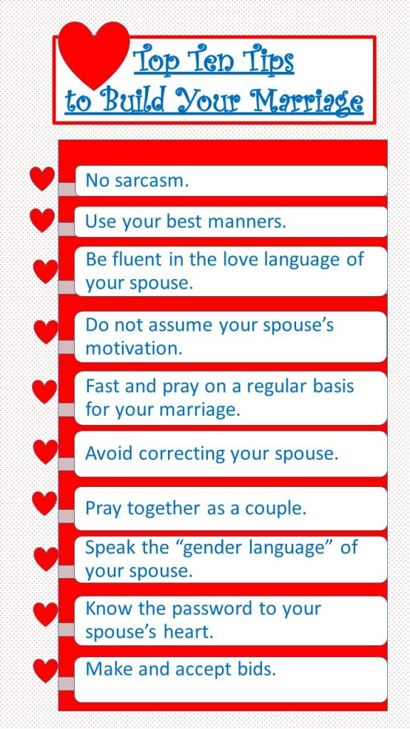 top 10 tips for marriage