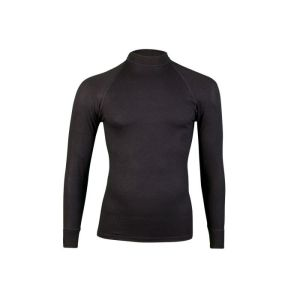 RJ Thermo shirt lange mouw - Zwart