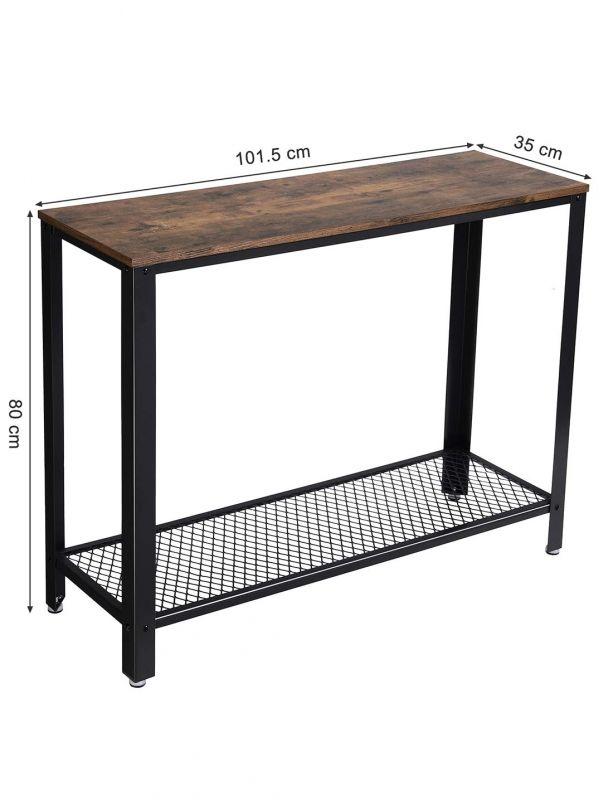 Vintage Store Desk Console Table