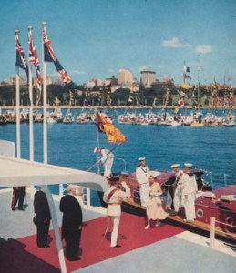 """Every woman's dream of beauty"", wrote the Sydney Morning Herald of the arrival of Her Majesty."