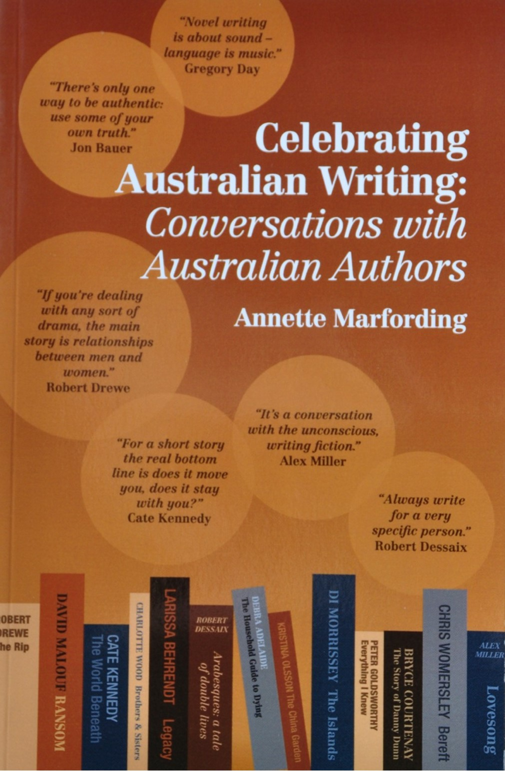 Annette Marfording's book Celebrating Australian Writing: Conversations with Australian Authors