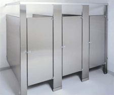 commercial bathroom toilet partitions, stalls & compartments