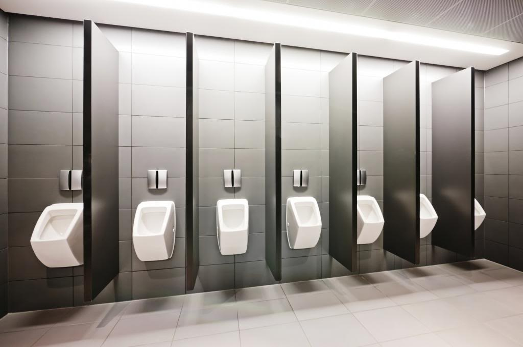 how to choose urinal partitions for your public restroom - manning