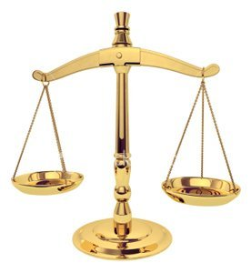 scales of justice - Manchester personal injury attorney