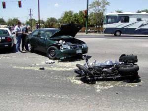 motorcycle injury case