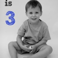 Landon...the big 3 year old