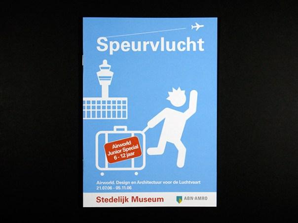 stedelijk museum speurvlucht brochure