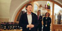 Daniele Galler della Cantina Produttori di Bolzano presenta la serata