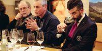 Il nostro enologo Gianfrancesco Paoletti con Giovanni Lai e Roberto