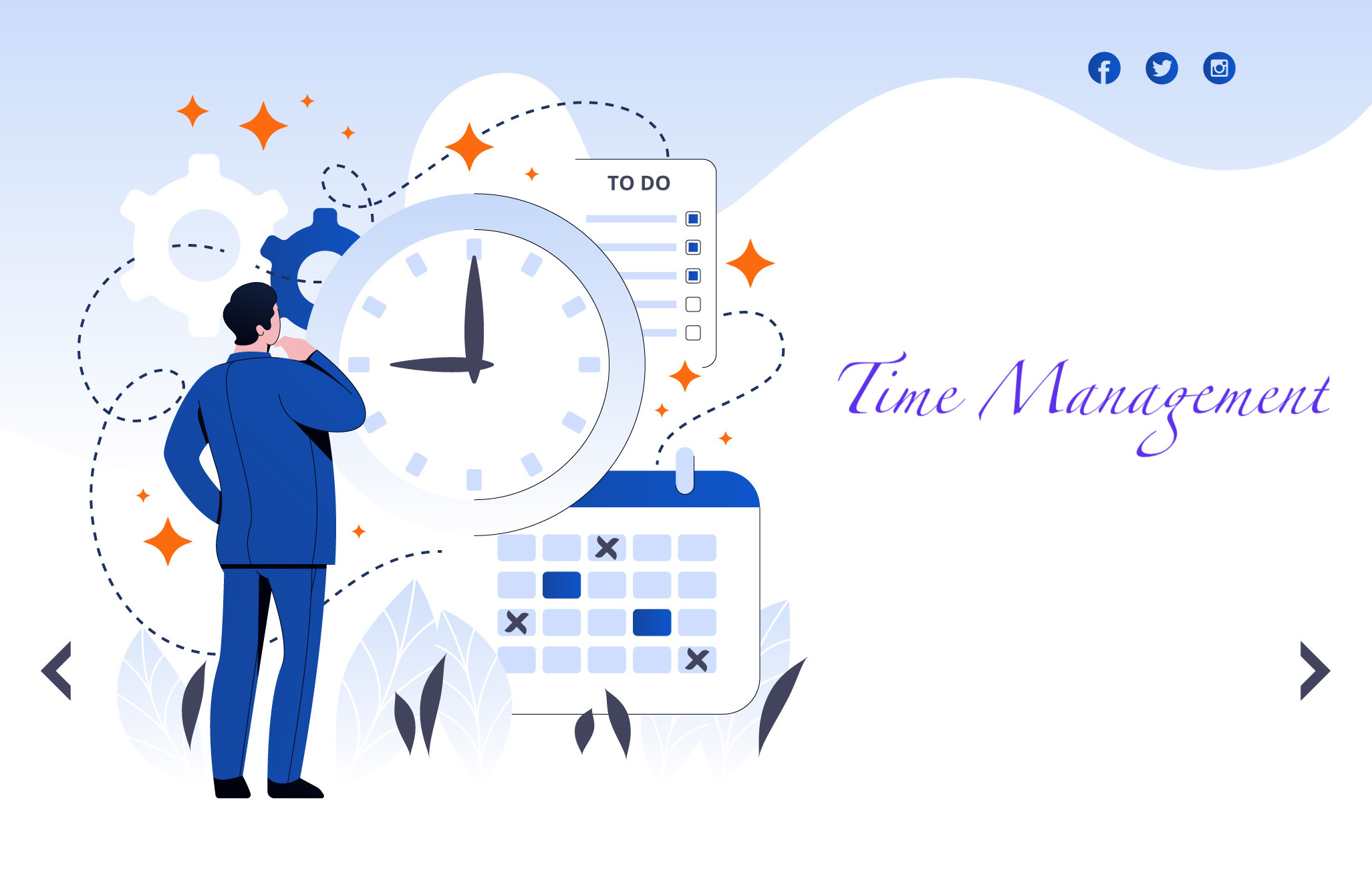 time management- manobal