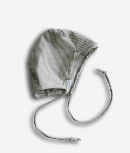 bonnet gray stripe