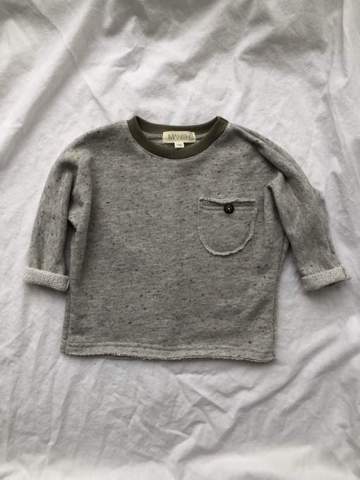 Sweater grey speckles