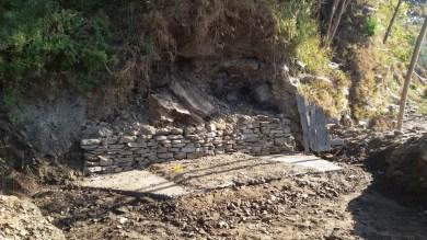 La source a été capté dans un grand réservoir