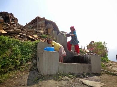 Ces jeunes filles font partis des habitants les plus pauvres du village. Elles sont Dalits ( intouchables ). Désormais elles n'ont plus rien…