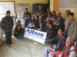 Avec les élus locaux et associations de Simjung