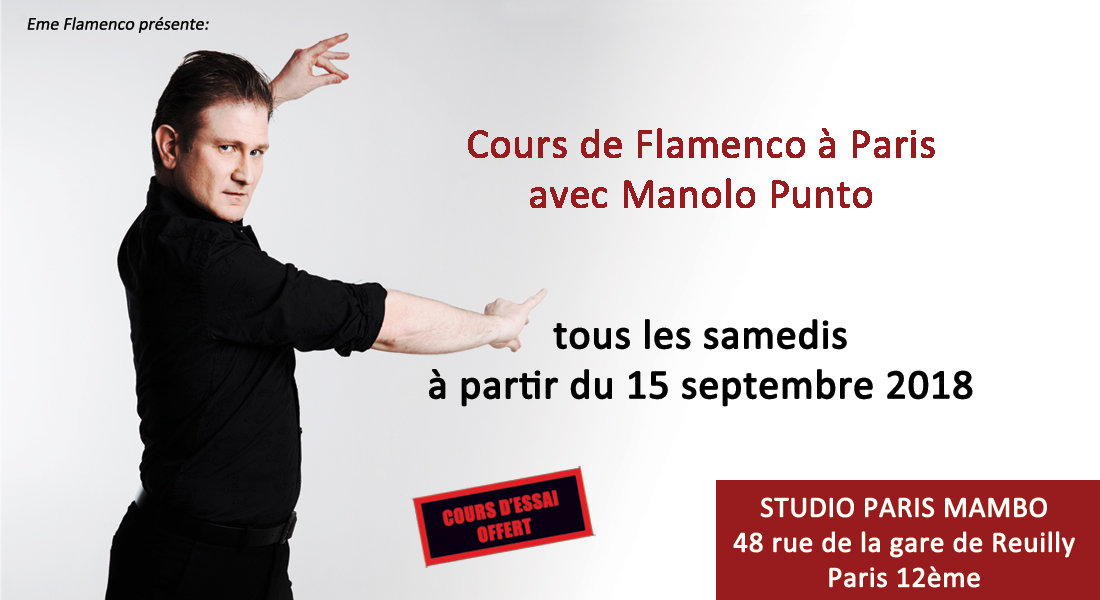 cours flamenco paris
