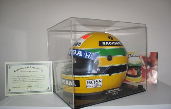 1991 Ayrton Senna Helmet (Replica) by SID – Brasil