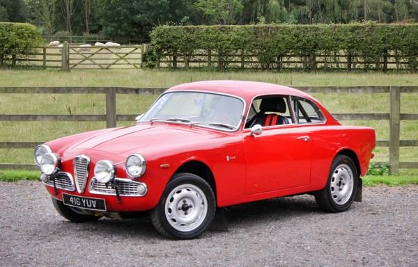 1963 Alfa Romeo Giulia Sprint **SOLD**