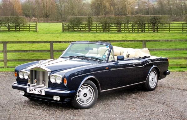 1989 Rolls-Royce Corniche **SOLD**