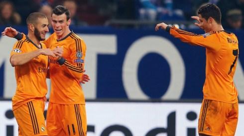 Benzema, Bale y Ronaldo celebrando un gol (Foto: es.uefa.com)