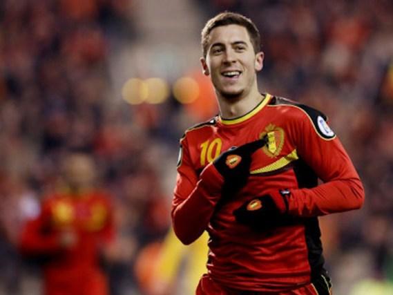 Eden Hazard abanderá el talento de esta jovencísima selección. Foto: tuteve.tv