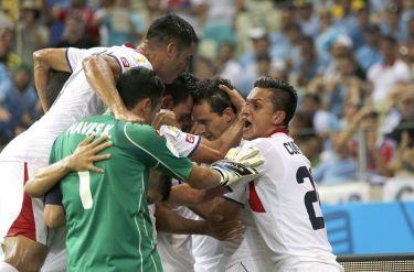 Costa Rica ha sido la gran inesperada en los cuartos   Foto: La Nación CR